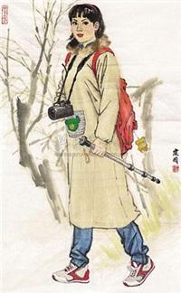 摄影女孩 by sang jianguo