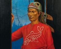 guerrier à la tunique rouge by antoine tzapoff