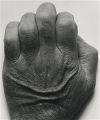 self-portrait (back of hand) by john coplans
