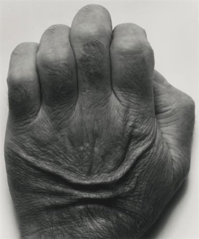 self portrait back of hand by john coplans
