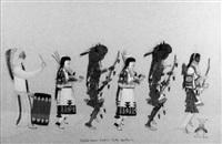 buffalo dance, cochiti pueblo, new mexico by tonita pena