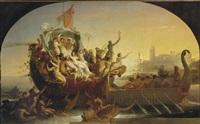 l'arrivée de cléopâtre à tarse by alexandre cabanel