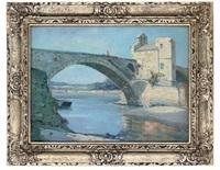 pont st-bénezet, avignon by augustus william enness