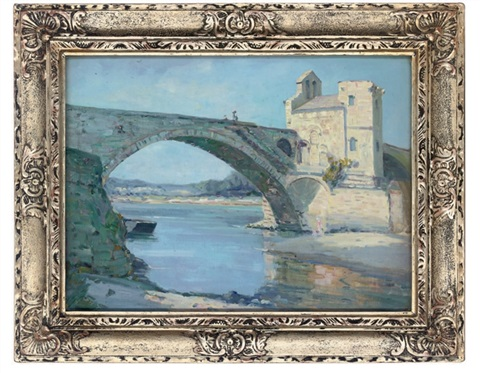 pont st bénezet avignon by augustus william enness