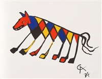 flying colors 3 by alexander calder