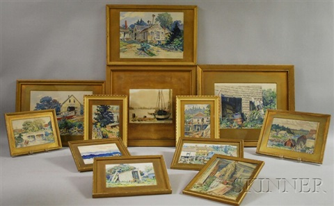maine view 11 others 12 works by homer wayland colby