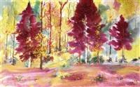 紫色浪漫 by ma qunxiong