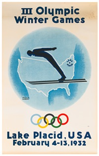 lake placid/iii olympic winter games by witold gordon