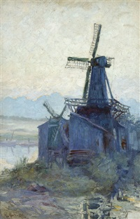 view of a mill by max metzoldt