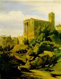 tempio di vesta a tivoli by federico ashton