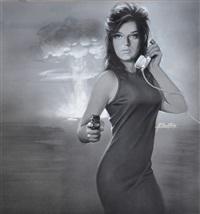 couverture du roman une bombe signée lecomte collection fleuve noir 599 by michel gourdon