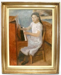 jeune pianiste by léon devos