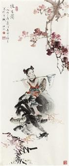 牧牛图 by ji yingxin