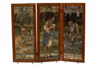 russische volkssprookjes (triptych) by aleksandr nikolaevich glagolev