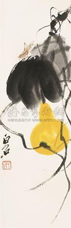 葫芦 by qi baishi