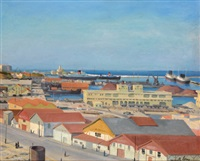 port d'alger, les docks by camille leroy