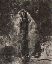 dancing maiden by albert emile artigue