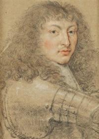 portrait du roi louis xiv by nicolas mignard