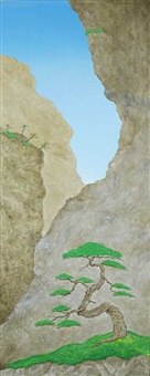 pine tree #48 by shuji yamamoto