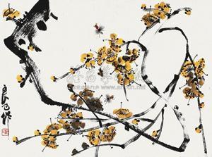 花卉 by qi liangsi