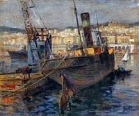 port et ville d'alger by alexandre rigotard