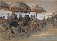 strandcafé by fred money