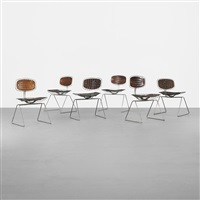beaubourg chairs from the centre georges pompidou (set of 6) by michel cadestin and georges laurent
