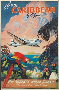 fly to the caribbean by clipper/pan american world airways by mark von arenburg