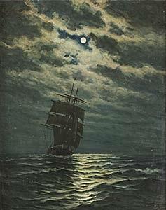 skepp i månsken by zackarais martin aagaard