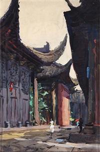 水粉 by du yongqiao