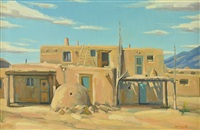 pueblo at taos by matt smith