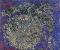 muro blue, rosso, viola by oscar piattella