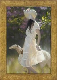a summer stroll by maria boothiyatova