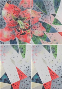 red lily (in 4 parts) by yone young