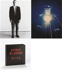chris burden, 71-73 (album w/53 & title) by chris burden