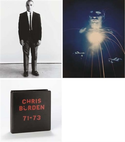 chris burden 71 73 album w53 amp title by chris burden