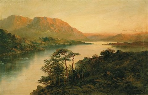 the middle lake killarney ireland by m jackson