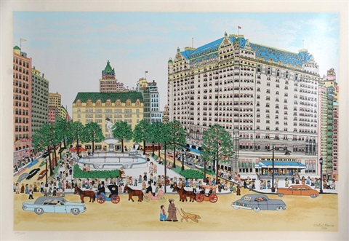 the plaza hotel by vestie e davis