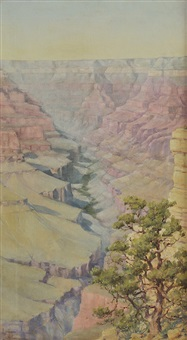 grand canyon by louis b. akin