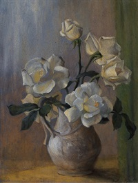 white killarney roses by beatrice hagarty robertson