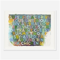 superficial 2 by mel bochner