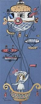phantasische luftschiffe by bele bachem
