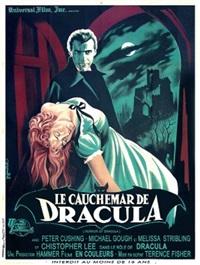 le cauchemar de dracula/horror of dracula (poster) by guy gérard noel