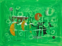 composición en verdes by pierre de berroeta