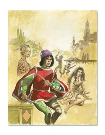 la toile et la dague le mort sur le bûcher by edouard aidans