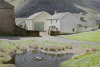 how top farm, grasmere by william heaton cooper