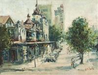 a johannesburg street scene by ruth squibb