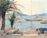 baai van sanary sur mer by hendrik jan wolter