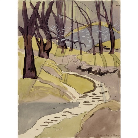 brook by charles ephraim burchfield