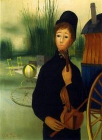 le violiniste by albert deman